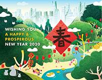 CBRE APAC Lunar New Year 2020