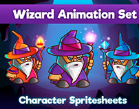Wizard Character Sprite