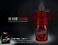 True Blood - campanha de doação de sangue.