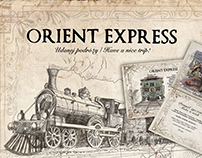 "Flisak 76 - Cocktail Menu ""Orient Express"""