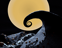 The Nightmare Before Christmas Title Sequence