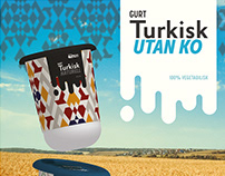 Plant based Turkish Gurt - a collaboration with Oatly