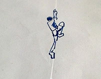 Rock Climbing - On Envelope