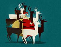 Deer Santa!