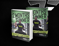12 Months of Summer eBook Cover & Web Design