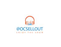 @OCSELLOUT Musical Flat/Minimalist logo