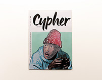 Hip-Hop Magazine // Editorial Design & Illustration