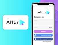 Attar Branding UX/UI