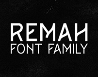 Remah font family