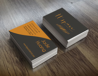 Business card. Modern and simple business card.