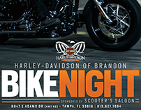 Harley-Davidson of Brandon Bike Night Branding