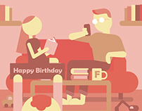 Takako's Birthday gift