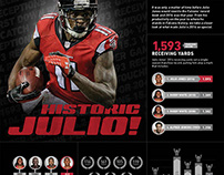 Historic Julio Infographic