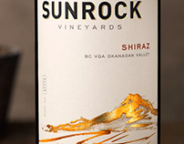 Sunrock Vineyards (Constellation) Packaging and Logo