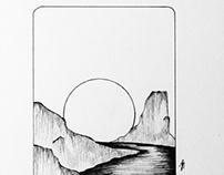 Minimalist Desert