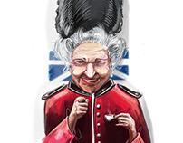 The queen wants U