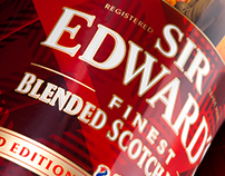 Sir Edward's Blended Scotch Whisky - Limited edition
