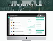 Marketing web application