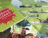 Karte für die Erlebnismuseen Rhein/Ruhr