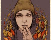 """The Fall""    Illustration"