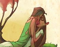 Couple,Kiss,Cherrytree