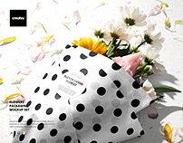 Flowers Packaging Mockup Set