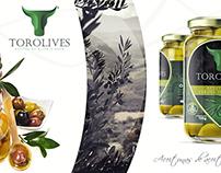 Torolives / Logo + packaging and label design