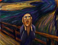 Adobe 5 Scream Sketch