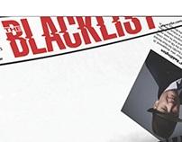 "Motion Graphics Display - ""Blacklist"""