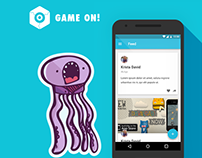 Game On - Android App Design