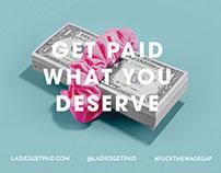 Ladies Get Paid Promotional Postcard