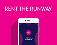"""Rent the Runway """"Like a Glove"""" Mobile App Concept"""