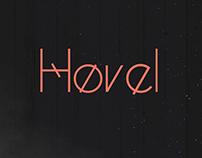 Hovel | Free font