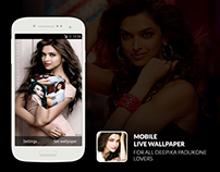 Deepika Padukone Bollywood Actress Live Wallpaper Apps