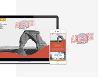Arches Biking Co. | Web Design + Branding
