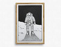 Astronaut – Artprint