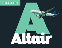 Altair Typeface Family - WITH 2 FREE WEIGHTS