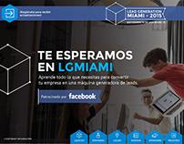 Lead Generation Miami / UI Design 2015