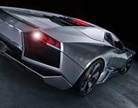 """Render """"Lamborghini Reventon"""""""