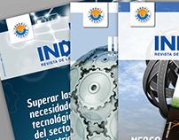 Diseño edtorial - Revista Espacio Industrial 2013