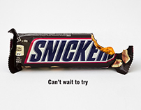 Snickers   Print Ads