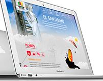 Website Santander turístico