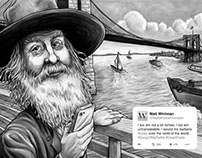 Walt Whitman Postcard