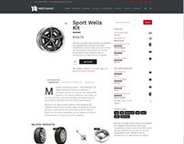 Shop Product Page - Mechanic WordPress Theme