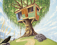 """""""The Tree House"""", James K Baxter - childrens poems"""