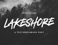Lakeshore Typeface + Free Font