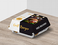 Burger Box Design