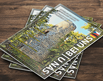 "bilingual tourist magazine ""Bei uns - U nás"""