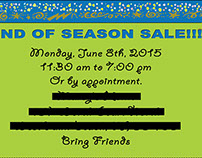 End of the Season Sale Event, 2015