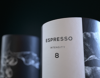 Q - coffee branding and packaging